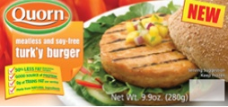 quorn turk'y burger
