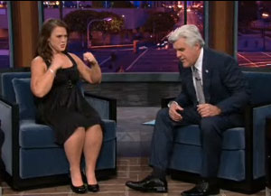 Biggest Loser's Tracey Yukich on Jay Leno