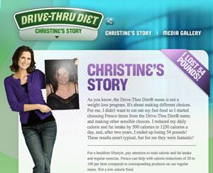 drive thru diet