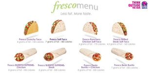 fresco menu