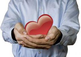 man heart