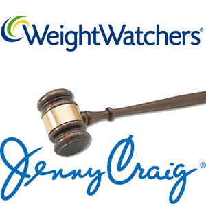 weight watchers jenny craig lawsuit