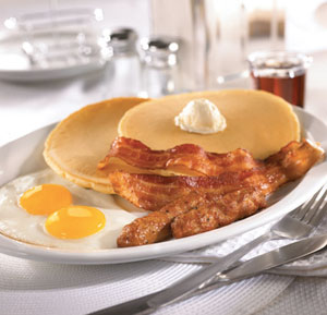 dennys free grand slam breakfast