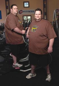 james and john biggest loser
