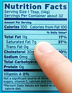 The Nutritional Information Label on Food