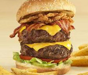 Image result for burger double-stack