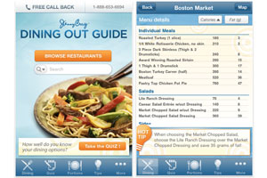 Jenny Craig Iphone App Makes Dining Out Easier
