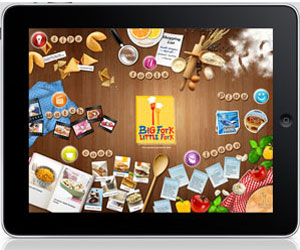 Kraft's Big Fork Little Fork iPad App