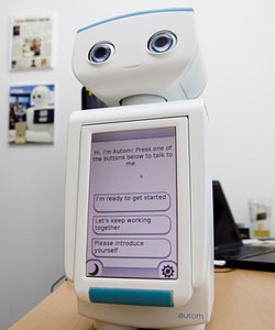 Autom, the robot for weight loss