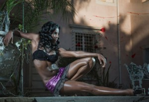 Rutina Wesley's workout