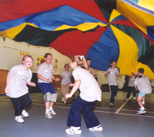 Gym Class Parachute