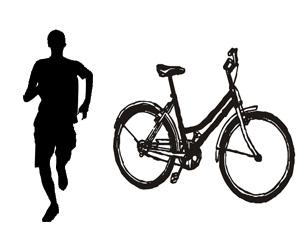 running vs biking
