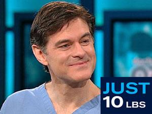 Dr. Oz announces Just 10 Pounds Challenge