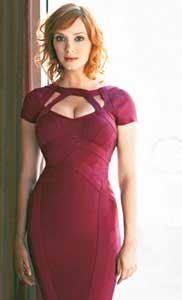 Christina Hendricks Not Losing Weight