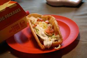 Taco Bell's XXL Chalupa