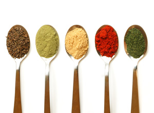 Different types of spice