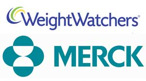 Merck and Weight Watchers Logos
