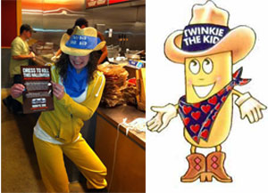 Scary Processed Food Costume
