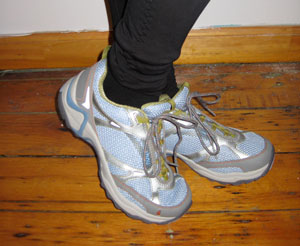 Quest for the perfect running shoe