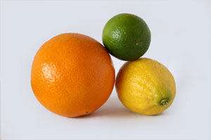 Orange, Lemon, Lime