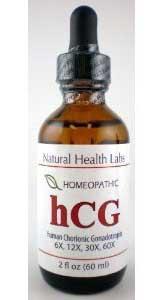 Homeopathic hCG