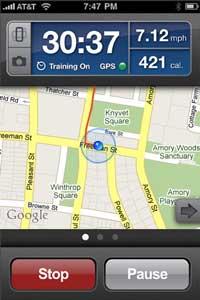 Screen Shot of RunKeeper Pro