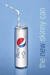 Diet Pepsi Thinner Can