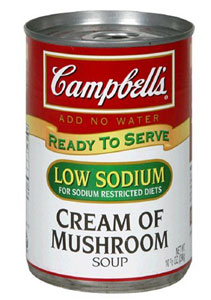 Campbell Soup Cream of Mushroom