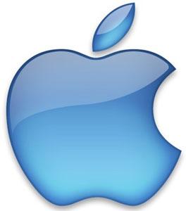 Blue Apple Computer Logo