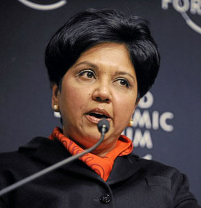 CEO of Pepsi Indra Nooyi