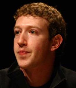 Mark Zuckerberg Headshot Black Background