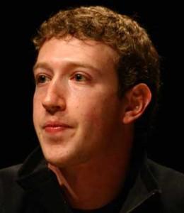 Mark Zuckerberg Headshot Black Background