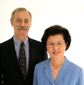 Dr. Joseph Artiss and Dr. Catherine Jen