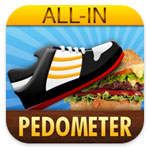 All-In Pedometer Logo