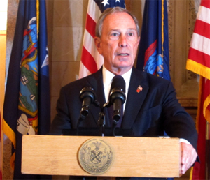 Michael Bloomberg at Annoucement of Local Food Bill