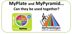 Teaching with myplate and mypyramid