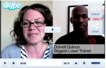 Dolvett Quince and Brandi Koskie