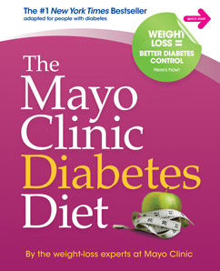 book cover of The Mayo Clinic Diabetes Diet