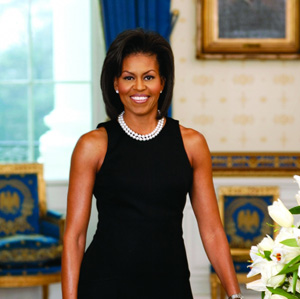 Offical Portrait of Michelle Obama at the White House