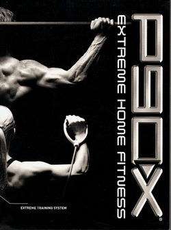 p90x extreme home fitness logo