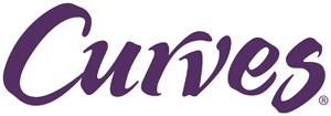 "purple ""curves"" logo"