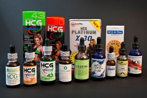 different brands of illegal hcg