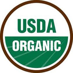 round USDA Certified Organic logo