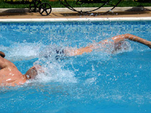 Swimming Lowers Blood Pressure in Older Adults