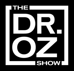 dr oz show black and white logo