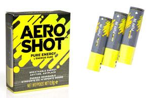 aeroshot caffine inhaler
