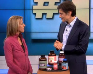 Dr. Oz show with guest Lisa Lynn
