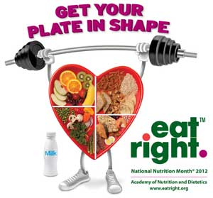 national nutrition month 2012 theme