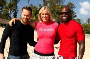 Biggest Loser Trainers with Sufer Bethany Hamilton