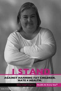 fat activist marilyn wann